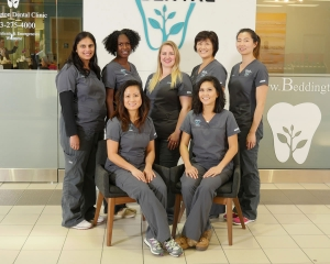 Dental hygienists at Beddington Dental