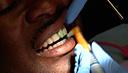 hygenist cleaning teeth